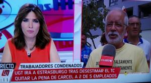 Blanco fue entrevistado en directo por Las mañanas de Cuatro.