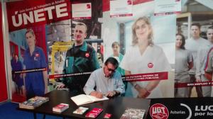 Donaire también plasmó una dedicatoria al nuevo equipo que dirige el sindicato.