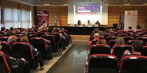 La jornada se celebró en el salón de actos de la Fundación Laboral de la Construcción del Principado de Asturias, en Ribera de Arriba.