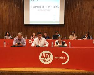 El comité fue presidido por Fernando Díaz Arnáiz, que compartió mesa con Maximina Fernández Otero y Luis Blanco Junquera.